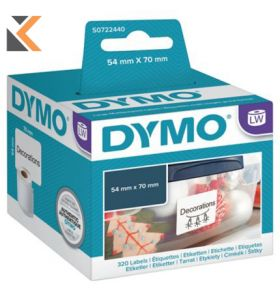 Dymo LW Multi-Purpose Labels, 54mm X 70mm - [Roll of 320]