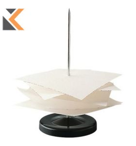 Paper Spike With Black Metal Base