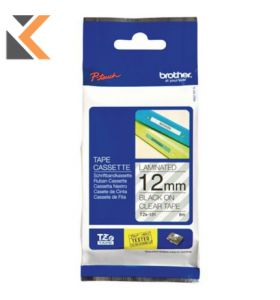 Brother P-Touch TZ Labelling Tape Black On Red - [8M X 12mm]
