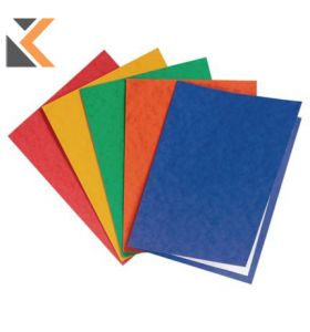 Exacompta Nature Future Assorted A4 Gloss Square Cut 225gsm Folders - [Pack of 25]