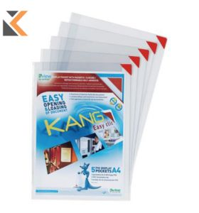 Tarifold Easy Clic A4 Pockets - [Pack Of 5]
