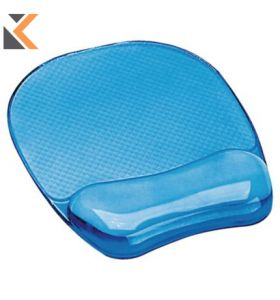 Fellowes Crystal Gel Mouse Pad And Wrist Rest - [91141]