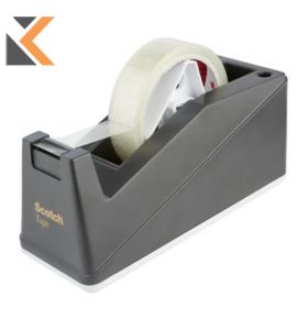 Scotch Table Top Sticky Tape Dispenser For-19/25mm X 66M Tapes - [Not Included]