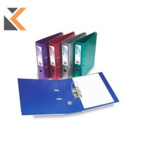 Rexel Metalix Purple A4 Lever Arch File 80mm - [Box of 10]