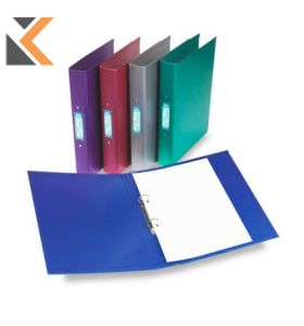 Rexel Metalix Purple A4 2 O-Ring Binders - [Box of 10]