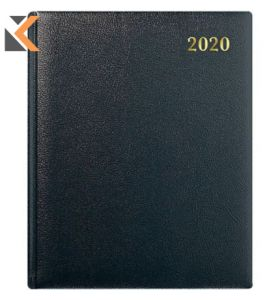 COLLINS INTERNATIONAL QUARTO MANAGEMENT BLACK DIARY - [WEEK TO VIEW]