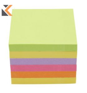 Post-It Z Pop-Up Notes Neon Rainbow Pack 6 - [76X76mm]