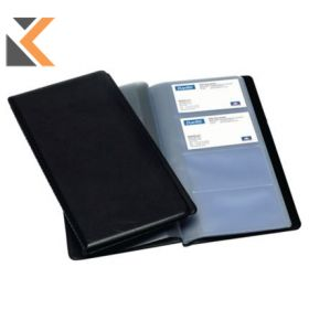 Elba Black PVC Business Card Holder - [225 X 125mm]