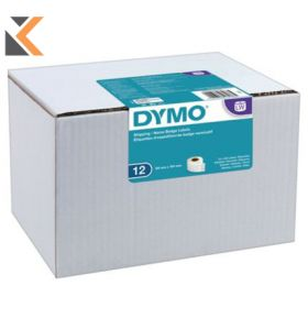 Dymo LW Large Shipping Labels/Name Badges, 54mm X 101mm - [12 Rolls of 220]