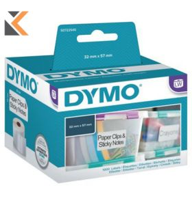 Dymo LW Multi-Purpose Labels, Roll of 1000 - [57mm X 32mm]