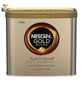 Nescafé Gold Blend Instant Coffee - [Tin 500G]