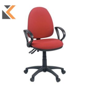 Origin High Back Operators Chair With Arms - [Red]