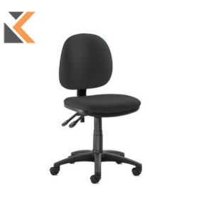 Origin Medium Back Operators Chair Without Arms - [Black]