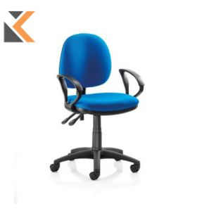 Origin Medium Back Operators Chair With Arms - [Blue]