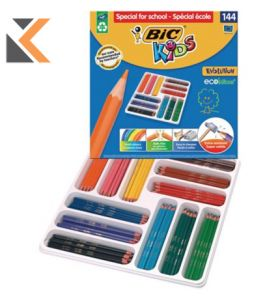 Bic Kids Colouring Pencils Classroom Pack - [Pack of 144]