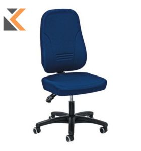 Younico [1451] High Back Chair Blue - Arms Not Included