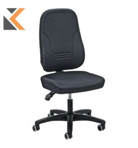 Younico - [1451] High Back Chair Charcoal Arms Not Included