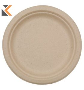 Duni Bio-degradable Plastic Plates - [Pack of 50]