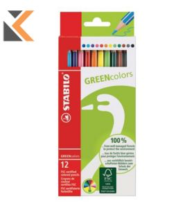 Stabilo FSC Pencils Assorted - [Box of 12]