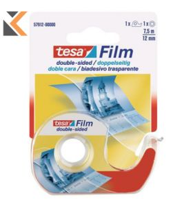 Tesa Double Sided Tape With Dispenser - [12mm X 7.5M]