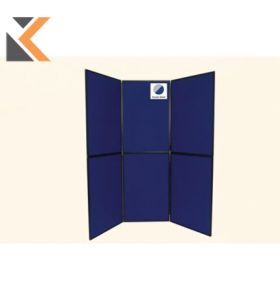 6-Panel Display Board Grey / Blue