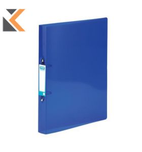 Elba Snap Ring Binder A4 20mm Capacity, 40mm Spine 2 O-Ring Blue - [Pack of 10]