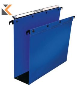 Elba Ultimate A4 Blue Heavy Duty PP Suspension Files 80mm Base - [Pack of 10]