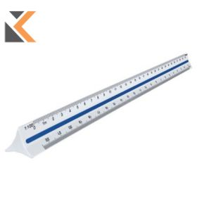 Maped-Scale Ruler 1/100, 1/200, 1/250, 1/300, 1/400, 1/500