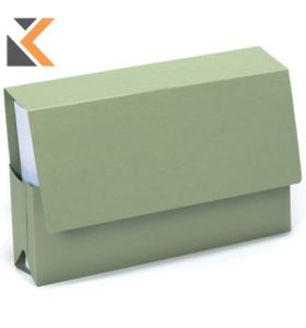 Guildhall Probate Wallets, 25X35.5cm , 315gsm- Green- [Pack of 25]