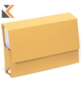 Guildhall Probate Wallets, 25X35.5cm ,315gsm - Yellow - [Pack of 25]