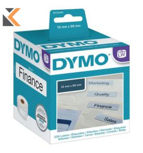 Dymo LW Suspension File Labels, Roll of 220 - [12mm X 50mm]