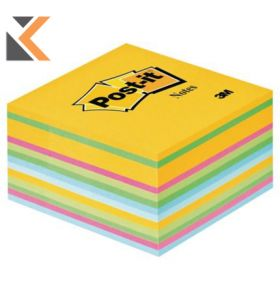 Post-It Note Cubes Ultra [76 X 76] Assorted Colours