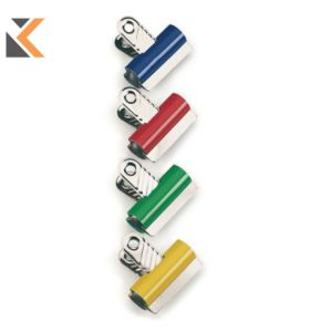 Rapesco Letter Clips 60mm Assorted Colours - [Tub of 10]