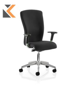 Poise High Back Operators Black Chair