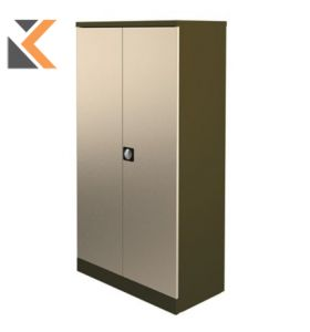 Kontrax Stationery Cupboard - [1.8M] Coffee / Cream