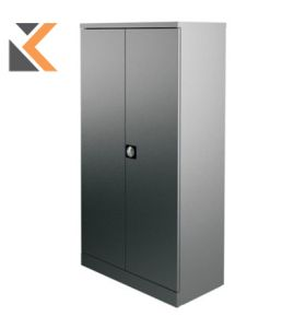 Kontrax Stationery Cupboard - [1.8M] Grey