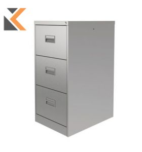 Contract Midi Filing Cabinet 3-Drawer Grey