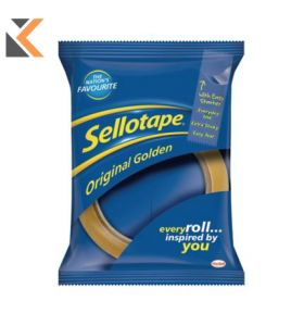 Sellotape Golden Tape 24mmx66M Clear - [Pack of 12]