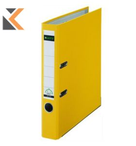 Leitz 180° Polypropylene A4 , Spine, Lever Arch Yellow File - [52mm]