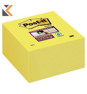 Post-It Super Sticky Cube  Canary Yellow - [76X76mm]