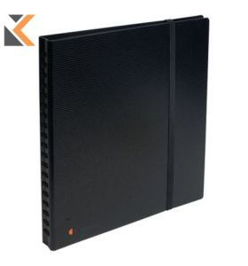 Exactive Exacard Business Card Holder, 320 Cards, 20 Sheets Black - [26.5X25cm]