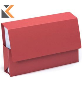 Guildhall Probate Wallets, 25X35.5cm , 315gsm- Red - [Pack of 25]
