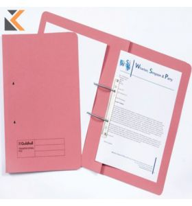 Guildhall Spiral Files, 315gsm, 35X24.2cm, - Pink - [Pack of 50]