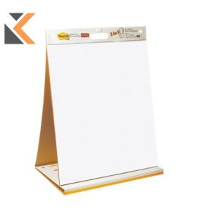 Post-It Sticky Super Table Top Easel Pad And Dry Erase Board
