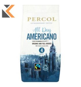 Percol Fairtrade All Day Americano Filter Coffee - [Bag 200G]