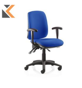 Fusion High Back Blue Chair