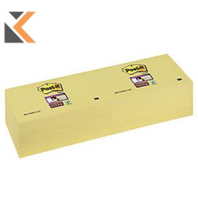 Post-It 655-1SSCY S/S 76mm X 127mm Canary Yellow - [Pack of 12]