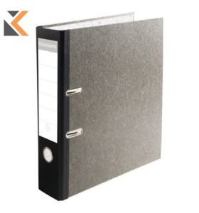 Exacompta Prem'Touch Lever Arch File, 80mm Black Spine - [32X30cm]