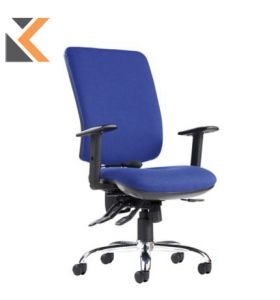 Senza Ergo High Back Blue Chair