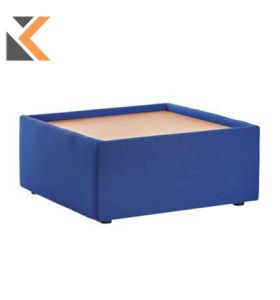 Modular Blue Reception Table - [275mm X 620mm X 620mm]